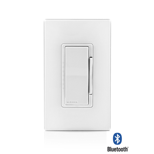 leviton ddmx1 blz bluetooth wall dimmer timer. Black Bedroom Furniture Sets. Home Design Ideas