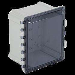 STI EnviroArmour Polycarbonate Enclosure, Tinted,  10x8x6