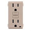 Leviton Renu 15A GFCI Receptacle Face Kit Cafe Latte