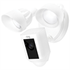 Additional images for Ring Floodlight Cam, HD Camera with Motion Activated Floodlight, White