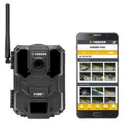 Vosker V100 Battery Powered 4G Cellular Camera