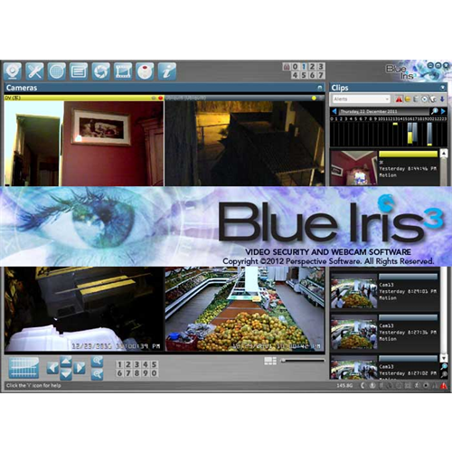 Blueiris Blue Iris Professional Ip Camera Recording Software