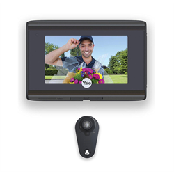 Yale Look WiFi Peephole Door Viewer Security Camera with SD Recorder