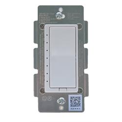 ZLINK Zwave Plus Wall Dimmer For Incandescent, LED, CFL