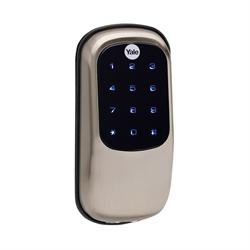 Yale ZWave Plus Touch Screen Key Free Deadbolt Satin Nickel