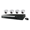 WatchNet IP Camera Kit with 4 Channel NVR and 4 x 3 MP Eyeball Cameras with IR