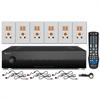 Russound CA66 Multi Room Audio Kit, 6 Zones, 6 Sources, 6 Keypads