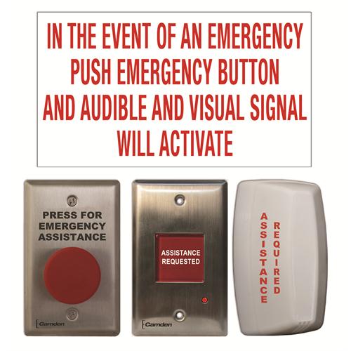 Cx Wec10 Camden Universal Emergency Call Kit