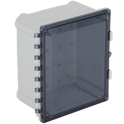 STI EnviroArmour Polycarbonate Enclosure, Tinted  12x10x7
