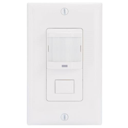 Intermatic PIR Occupancy Sensor / Vacancy Detector Automatic Light Switch White