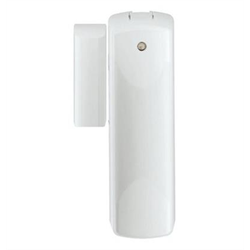 Ecolink ZWave Plus Door Window Sensor with White and Brown Cover, External Input