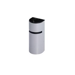 Ganz 1080p IP Door Frame Camera, 3.7mm Lens, POE, Silver Housing