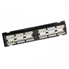Additional images for Platinum Tools Patch Panel, 12 Port, Cat6, 110 Punchdown