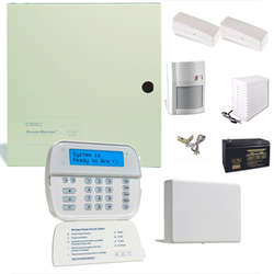 DSC Wired and Wireless Security System with Transceiver, Fully Wireless Keypad