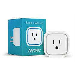 Aeotec ZWave Plug In On Off Smart Switch 6