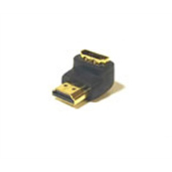 Azco HDMI Gold Plated Male / Female 90 Degree Adapter