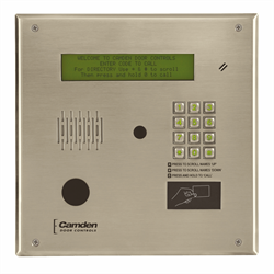 Camden Invision TAC Telephone Entry System,Master Directory,4 Line Display