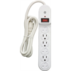 GE Surge Protected 6 Outlet Power Bar with 2.5 Food Cord