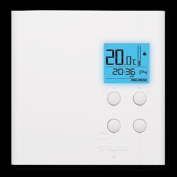StelPro Single Programmable Electronic Thermostat 120V/208V/240V White