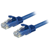 Startech CAT6 Molded Gigabit Patch Cable, 3 Foot 0.9 m , 650 MHZ, Blue