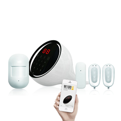 Smanos W100 WIFI and Telephone Enabled DIY Wireless Alarm System