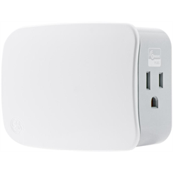 GE Zwave Plus Plug-in Two Outlet Smart Switch