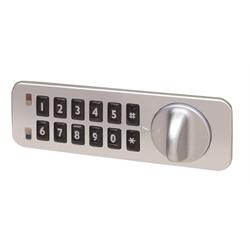 Codelocks Kitlock Compact NANO90 Small Locker and Furniture Lock, Left Hand
