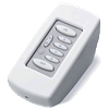 PCS PulseWorx UPB Keypad Controller, Desktop, 6-Button,  White (Clearance)
