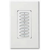 PCS PulseWorx UPB Keypad Controller, Dimmer, 6 Button, 400W White (Clearance)