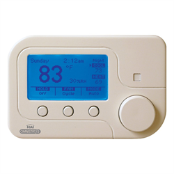 Leviton HAI Omnistat2 Thermostat Single Stage Conventional and Heat Pump, White