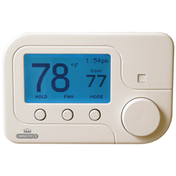 Leviton HAI Omnistat2 Thermostat Multistage,Heat Pump,Humidity Control, White