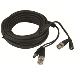 CCTV Premade Siamese Video and Power Cable 50 Foot