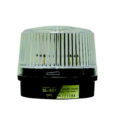 Amseco Round Weather Proof Strobe Light 12 VDC Clear